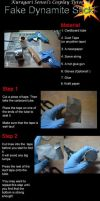 Tutorial - Fake Dynamite Stick by KuragariSensei