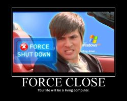 Smosh Force Close Motivator by htfman114