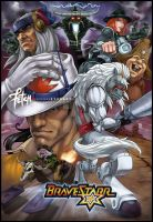 BRAVESTARR spirit animals by FranciscoETCHART
