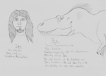 Pangearas Characters: John and Rex by guilmon182