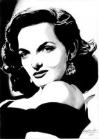 Jane Russell by Viktalon