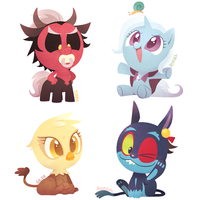 Baby Villains 2 by Ssalbug