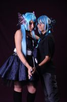 mikuo y miku cosplay 1 by sakurita-cosplay