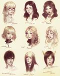Headshots - Group Two by JDarnell