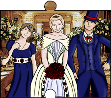 Jigsaw piece-Adult Hayley, Eliza and Gilbert by InterlockMaster