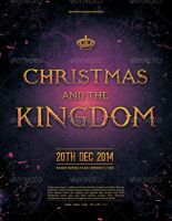 Christmas and the Kingdom Church Flyer Template by loswl