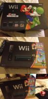 My NEW Wii with a Mushroom Candy XD by TuffTony