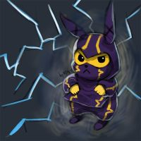 LOL - pika - kennen by chrier