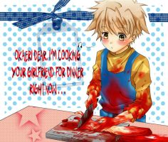 cooking your girlfriend is quite fun, yanno by yandere-shinai