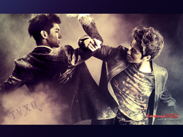 TVXQ comeback Max and UKnow by yume206