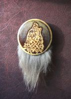 The Wolf Brooch by Wolf-Dee