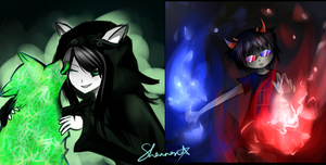 Homestuck Track Art by stormwiing