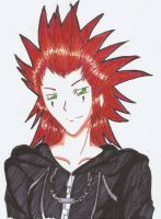 Axel -Kingdom Hearts- by XxSaorixX