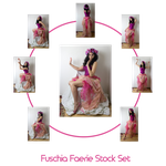 Fuschia Faerie stock Set by charligal-stock
