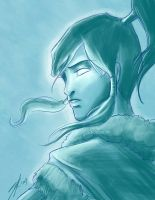 Korra by rice-claire