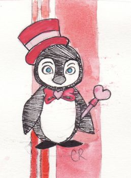Valentine Penguin by Carrie416