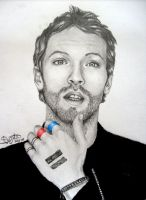 Chris Martin by SunrisePearl