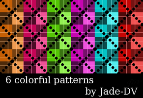 Colorful Patterns by Jade-DV