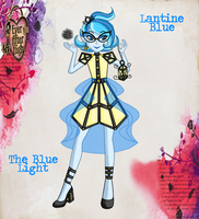 Ever After High OC: Lantine Blue by jiru-chan