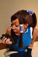 KORRA LOVES GRAPES!! by NekoYasha09er