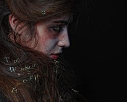 The Woman in Black by Sajuli
