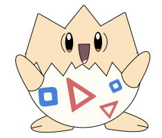 Baby Togepi by sugarislife28
