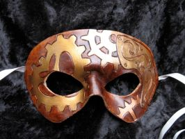"""I Love Steam"" Mask by MummersCat"