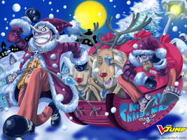 ONE PIECE merry christmas by uchiha-itasuke