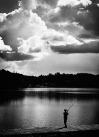 young angler. by mrzn89