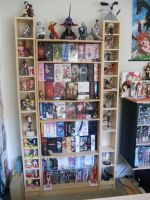 Anime Figure Collection - Anime DVD's + Figures by CELESTRIAL-HARDRAVE