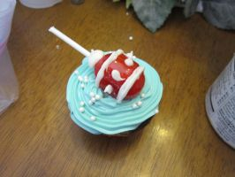 Baby Shower Cupcakes- rattle, boy by Angel-Of-Tricks