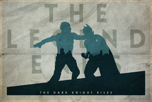 From the Ashes - The Dark Knight Rises Poster by edwardjmoran