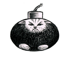 Kitty Bomb by offermoord
