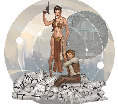 leia the babarian by blackstyluss