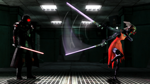 Lightsaber Fight by WitchyGmod