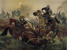 Romano British Cav vs Picts by Fall3NAiRBoRnE