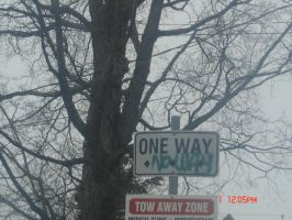 one way.no way by LoveIsMyHate