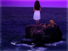 Alone in the Pacific by LinnEnglund