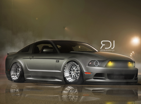 Ford Mustang by RDJDesign