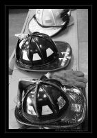 Hats Off to Them--BW by picworth1000wrds