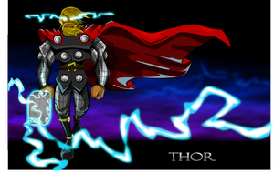 Thunder God by kudoze