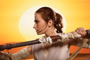 Star Wars the Force Awakens - Rey by Narga-Lifestream