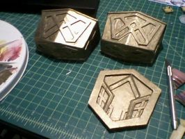 Thorin Oakenshield's Bootcaps and Belt Buckle by scenturion666