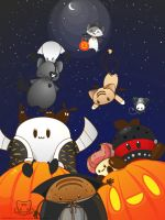 A BeKyoot Halloween by lafhaha