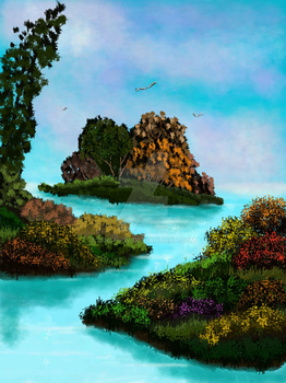 Little Islands by CINSHAW
