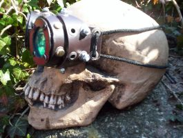 Leather Steampunk Goggles MkII by carlcom66