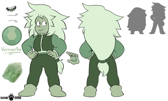 Steven Universe OC: Vermarine by KyuubiCore