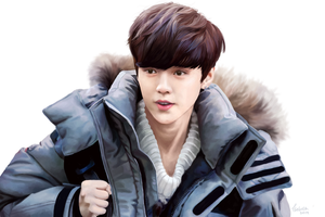 Luhan in December by yojiih