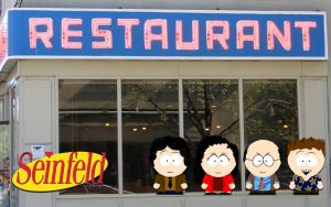 Seinfeld South Park by CTU-01
