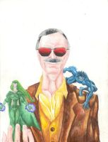 Stan The Man Lee by jmsnooks